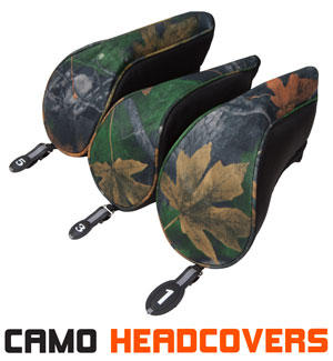 Driver and Fairway Wood Headcovers by Pinemeadow